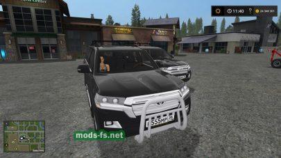 ToyotaLandCruiser для FS 2017