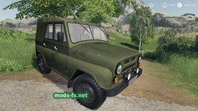Мод на УАЗ 469