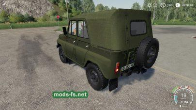 УАЗ 469 в игре ФС 2019