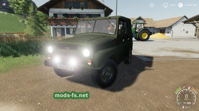 Скриншот мода uaz-469
