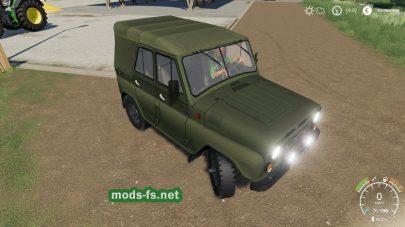 uaz-469 для FS 19