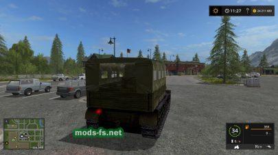 «Ворошиловец» для игры Farming Simulator 2017