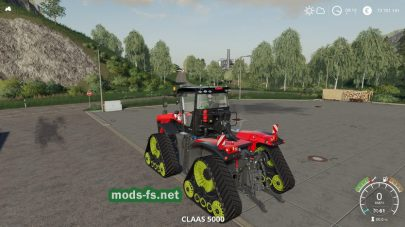 XerionTracTS для Farming Simulator 2019
