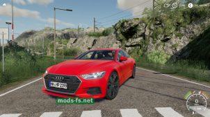 Автомобиль Audi А7 в игре FS 19
