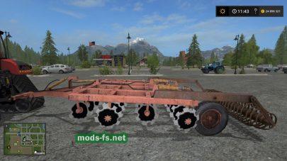 БДМ-3X4 для FS 17