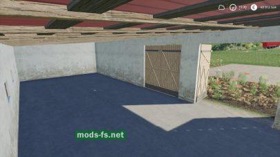 Garage mod FS 19