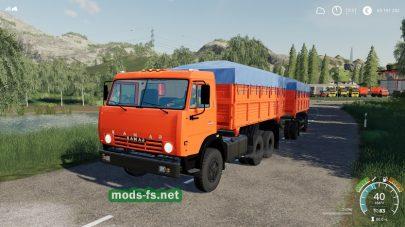Мод на КамАЗ 55102