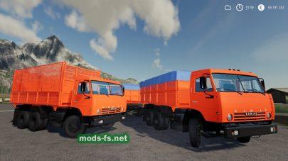 kamaz-55102 mod FS 19