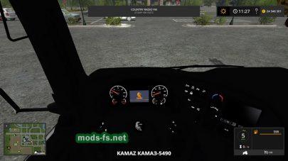 КамАЗ-5490 в игре симуляторе