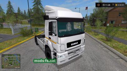kamaz-5490 mod FS 17
