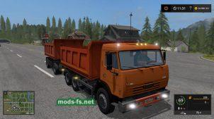 Мод на КамАЗ-65115