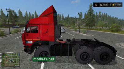 kamaz-65221 mod FS 17