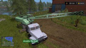 КРАЗ-257-Ш КС4561-А в FS 2017