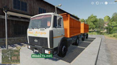 Мод на МАЗ-5551A2