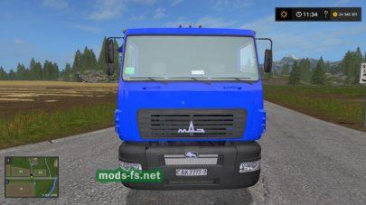 maz-6501 mod FS 17