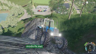Дополнение на трактор MTZ-1221