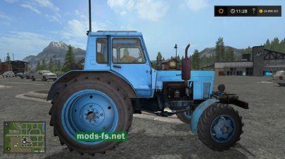 МТЗ-80 для игры Farming Simulator 2017