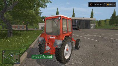 Скриншот мода mtz-82