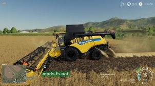 Мод на New Holland CR 6.90