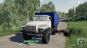 Скриншот мода ural-4320