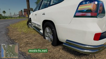 "Мод на ""Added Realism For Vehicles"""