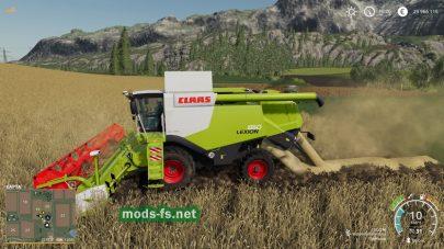 ClaasLexion600 для FS 2019