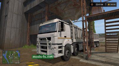 Скриншот мода kamaz-40s