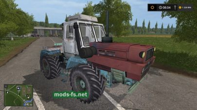 Скриншот мода khtz t-150k
