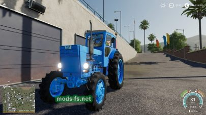 ЛТЗ Т-40М для игры Farming Simulator 2019