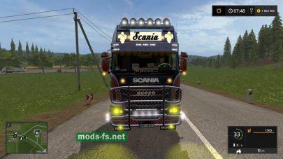 SCANIA R730 для игры Farming Simulator 2017