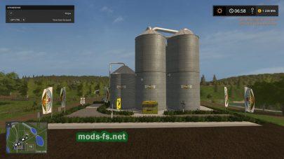 SiloOrganicProductByBOB51160 для Farming Simulator 2017