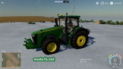 Снег в Farming Simulator 2019