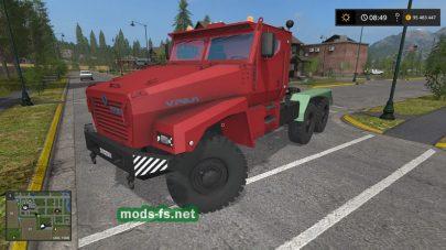 ural-63099 mod