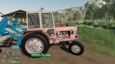 Мод трактора yumz