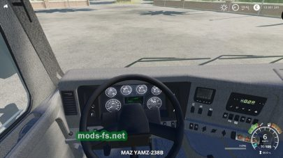 Скриншот мода МАЗ-631203