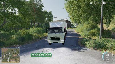 Мод грузовика Kamaz45143