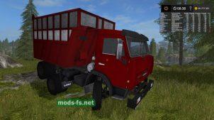 kamaz-5511 krasnyj
