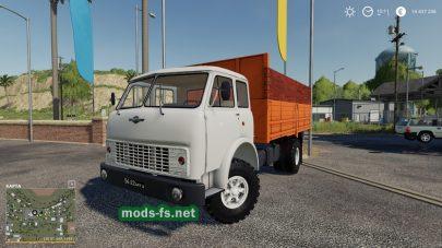 Скриншот мода MAZ-500