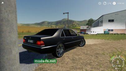 Мод на Mercedes-BenzW140