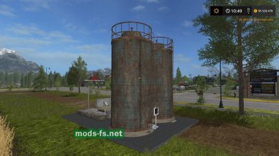 Placeable Liquid Fertilizer Storage для FS 2017