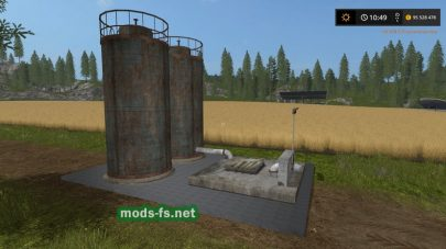 Мод на Placeable Liquid Fertilizer Storage