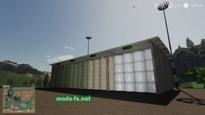 """Big Bale Storage Pack"""