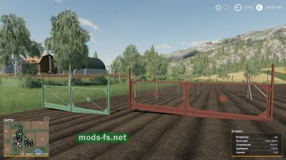 Мод на Concrete And Metal Fences Pack