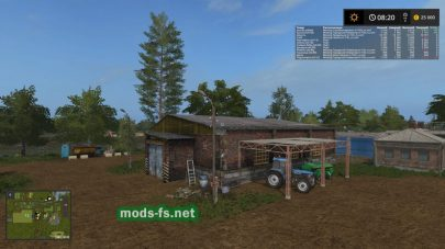 Dolgostroevo для Farming Simulator 2017
