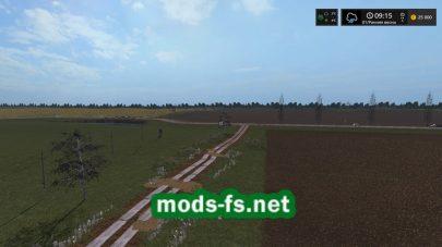 Мод белорусской карты для FS 17