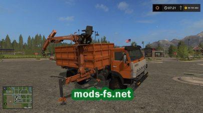 КамАЗ 55102 с манипулятором