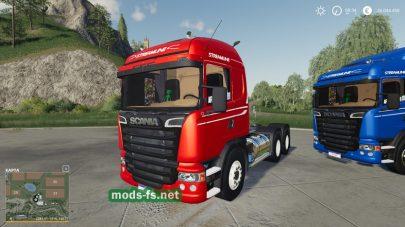 Мод на тягачи ScaniaStreamline