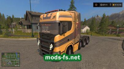 ScaniaS730Heavyдля Farming Simulator 2017