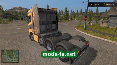 Мод на ScaniaS730Heavy