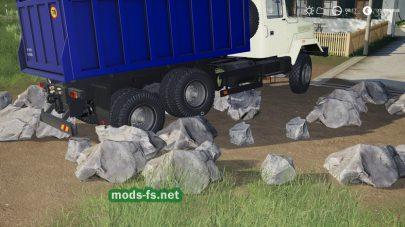 Rocks mod FS 19
